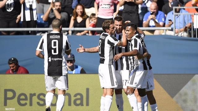 AS Roma 1-1 Juventus (pen 4-5) (Giao hữu CLB 2017)