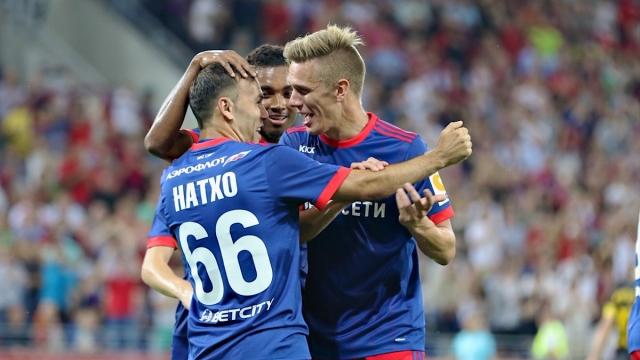 CSKA Moscow 1-0 AEK Athens (Vòng loại Champions League 2017/18)