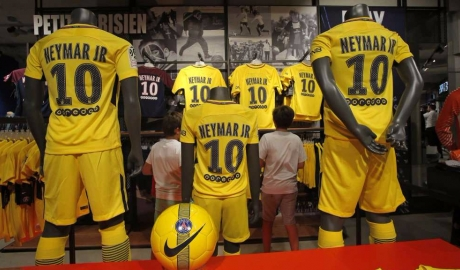Áo đấu của Neymar