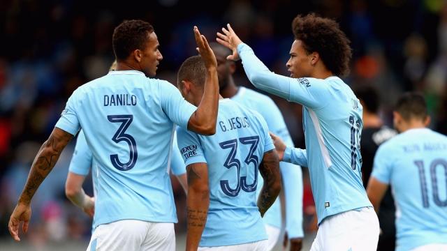 Man City 3-0 West Ham (Giao hữu CLB 2017)