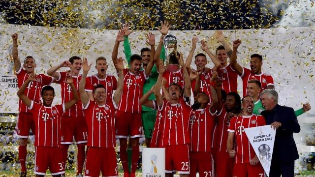 Dortmund 2-2 Bayern (pen 4-5) (Siêu cúp Đức 2017)