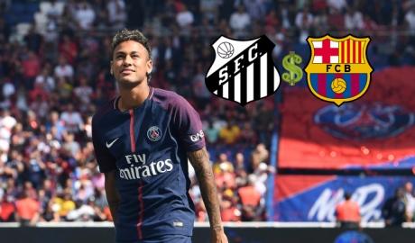 """Barca bị Santos đòi """"chia lộc"""" vụ Neymar"""