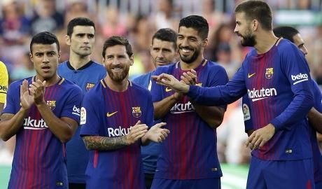 Messi trở thành cây săn bàn vĩ đại nhất cúp Joan Gamper