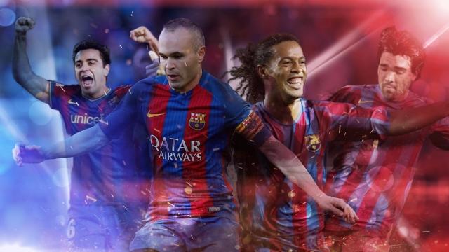 Siêu cúp Tây Ban Nha 2107: 10 tuyệt phẩm của Barcelona tại các trận chung kết