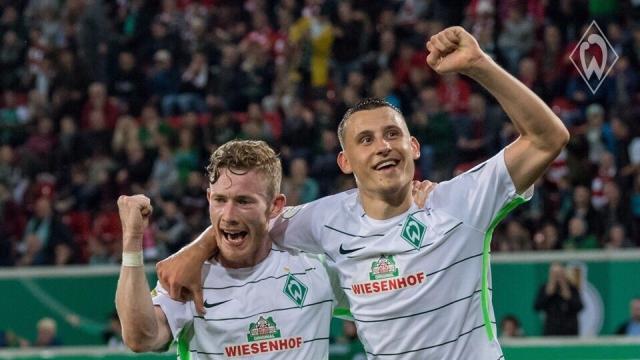 Kickers 0-3 Werder Bremen (Vòng 1 Cúp Quốc gia Đức 2017/18)