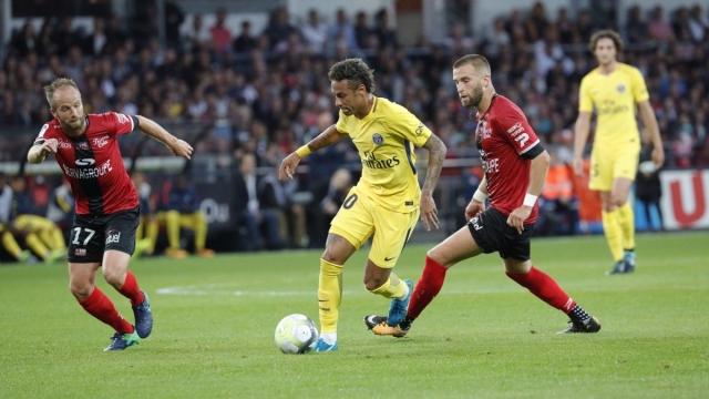 Guingamp 0-3 PSG (Vòng 2 Ligue 1 2017/18)