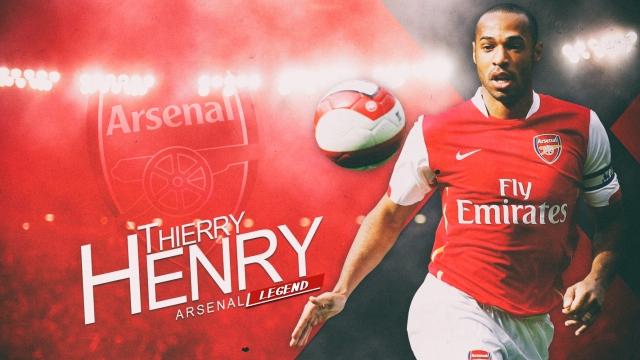 Thierry Henry cơn gió... độc một thời của Arsenal