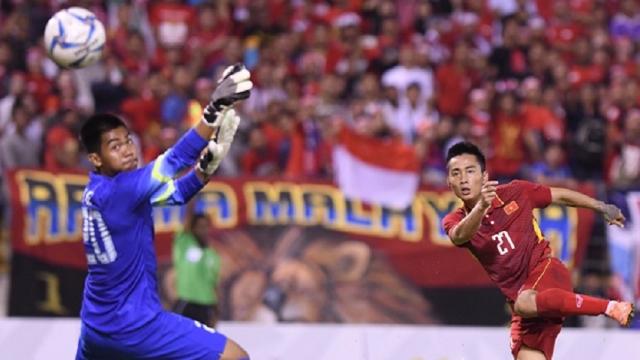 U22 Việt Nam 0-0 U22 Indonesia (Bảng B bóng đá nam SEA Games 29)