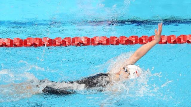 Ánh Viên xuất sắc giành HCV nội dung 100m bơi ngửa tại SEA Games 29