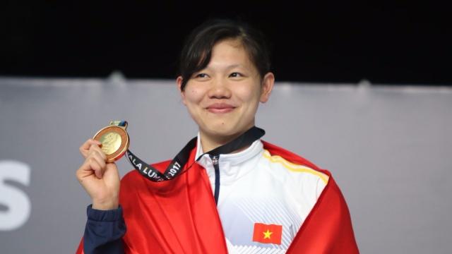 Ánh Viên và những khoảnh khắc vàng tại SEA Games 29