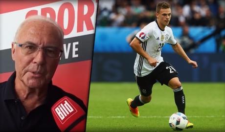 """Sao trẻ Kimmich bắt kịp """"Hoàng đế"""" bóng đá Đức"""