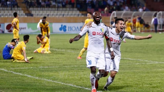 Sông Lam Nghệ An 1-2 CLB Hà Nội (Vòng 17 V.League 2017)