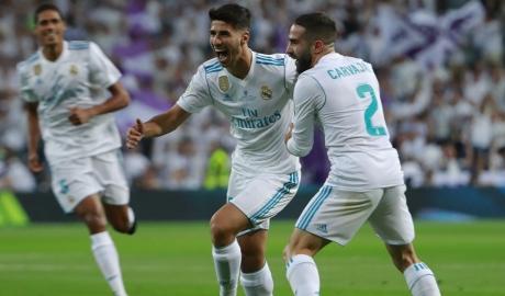 Asensio kịp trở lại cho trận mở màn Champions League