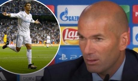 Ronaldo ghi bàn, Zidane có thực sự thoát lo?