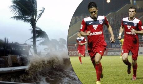 V.League dời lịch vòng 18 nhằm tránh bão số 10