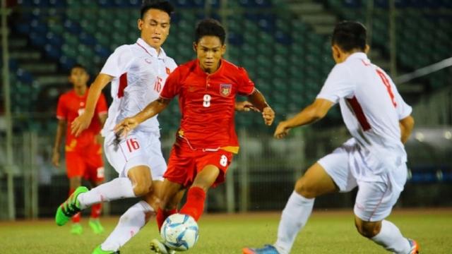 Việt Nam 1-2 Myanmar (Giải U18 Đông Nam Á 2017)