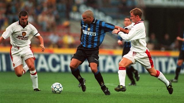 """15/9/1997: Ronaldo """"béo"""" ghi bàn đầu tiên cho Inter"""