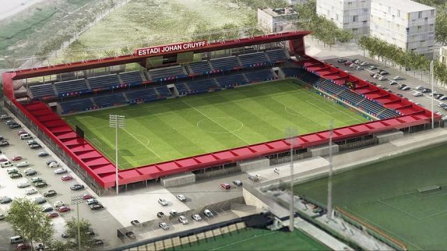 Chiêm ngưỡng SVĐ Barca xây dựng tưởng nhớ Johan Cruyff