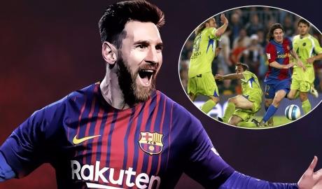 Messi tái ngộ Getafe: Kí ức về bàn thắng để đời 10 năm trước