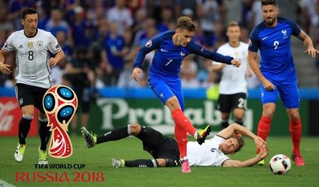 Phân nhóm World Cup 2018: Đức, Pháp, Ý chung bảng?