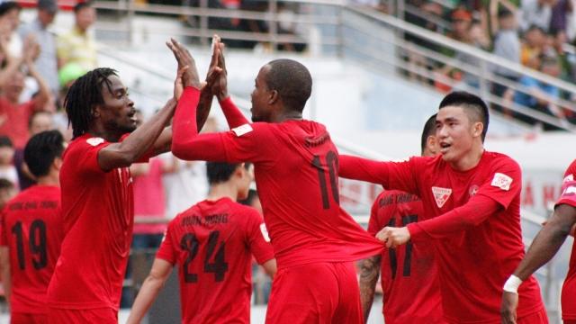 Hải Phòng 3-1 Sanna Khánh Hòa (Vòng 18 V.League 2017)