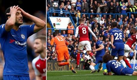 Chelsea 0-0 Arsenal: ĐKVĐ bị níu chân trong thế thiếu người