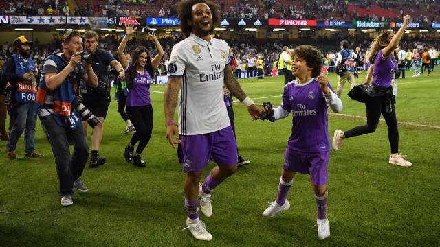 Con trai Marcelo lập hat-trick trong ngày ra mắt đội trẻ Real
