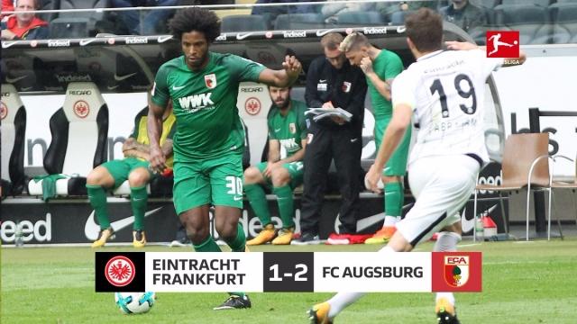 Frankfurt 1-2 Augsburg (Vòng 4 Bundesliga 2017/18)