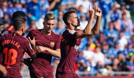 Getafe 1-2 Barcelona: Ngày kép phụ diễn chính