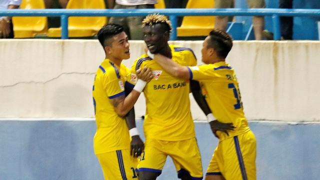 Đà Nẵng 0-1 Sông Lam Nghệ An (Vòng 18 V.League 2017)