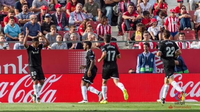 Girona 0-1 Sevilla (Vòng 4 La Liga 2017/18)