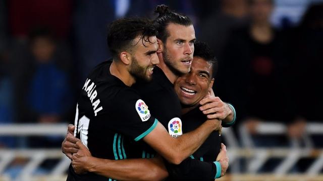 Sociedad 1-3 Real (Vòng 4 La Liga 2017/18)