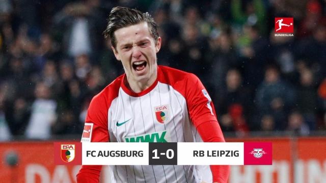 Augsburg 1-0 Leipzig (Vòng 5 Bundesliga 2017/18)