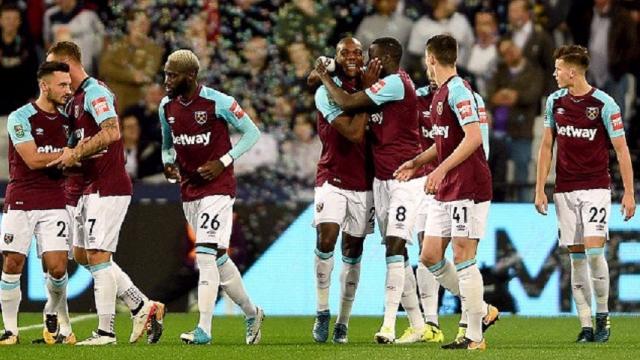 West Ham 3-0 Bolton (Vòng 3 Cúp Liên đoàn Anh 2017/18)