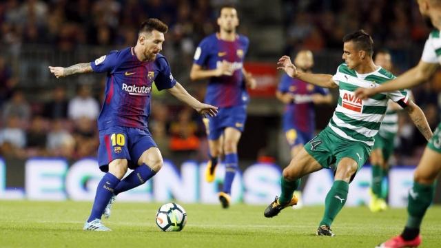 Barcelona 6-1 Eibar (Vòng 5 La Liga 2017/18)