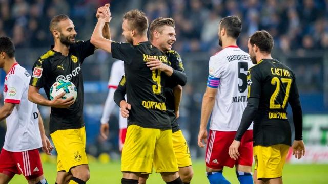 Hamburger 0-3 Dortmund (Vòng 5 Bundesliga 2017/18)