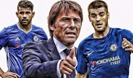 Đuổi xong Costa, Conte tâng bốc Morata