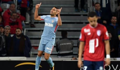 Falcao lập cú đúp, Monaco thắng tưng bừng Lille
