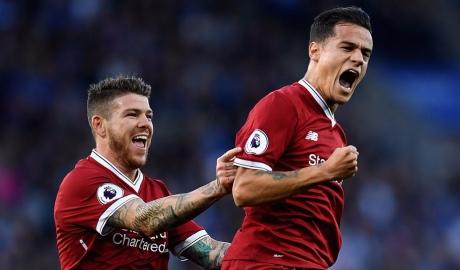 Leicester 2-3 Liverpool: Rực rỡ Coutinho, Vardy hóa tội đồ