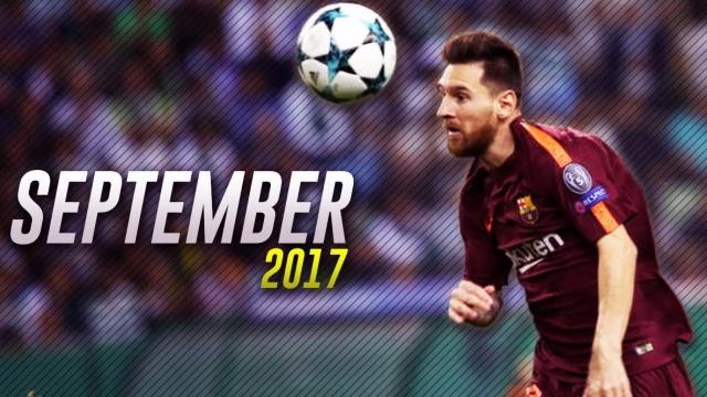 Messi tỏa sáng trong tháng 9 giúp Barca vững vàng ngôi đầu