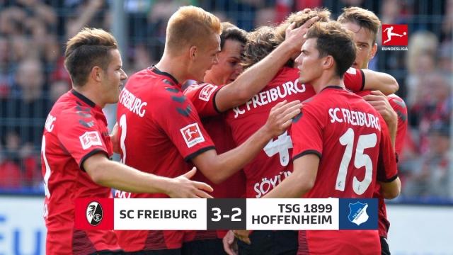 Freiburg 3-2 Hoffenheim (Vòng 7 Bundesliga 2017/18)