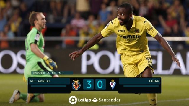 Villarreal 3-0 Eibar (Vòng 7 La Liga 2017/18)