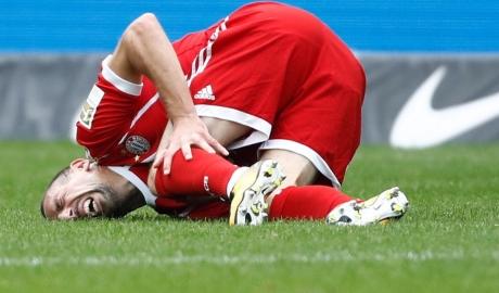 Bayern nhận tin dữ từ Ribery
