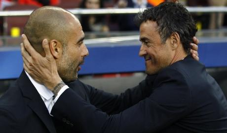 Pep Guardiola ủng hộ Enrique dẫn dắt Bayern