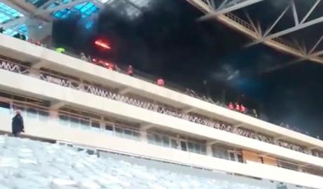 SVĐ tổ chức World Cup 2018 bất ngờ bốc cháy