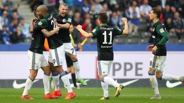 Hertha Berlin 0-2 Schalke 04 (Vòng 8 Bundesliga 2017/18)