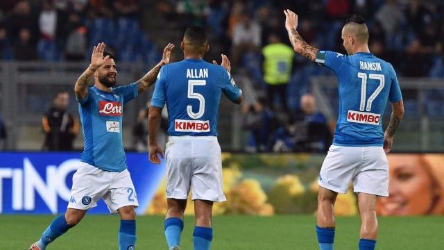 Roma 0-1 Napoli (Vòng 8 Serie A 2017/18)