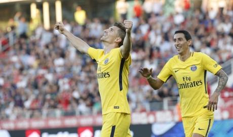 Hậu vệ ghi bàn phút chót, PSG thắng nhọc Dijon