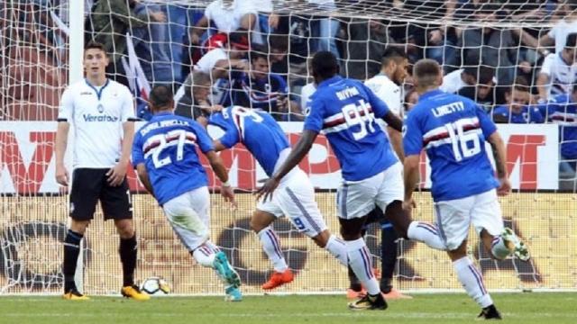 Sampdoria 3-1 Atalanta (Vòng 8 Serie A 2017/18)