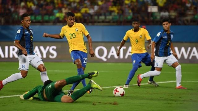 Brazil U17 3-0 Honduras U17 (Vòng 1/8 - U17 World Cup 2017)